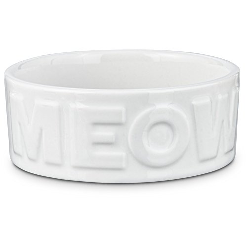 Seaside Summer Meow Cat Bowl, 1 Cup, Small (Meow Cat Dish)