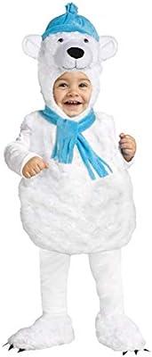 Horror-Shop Disfraz De Oso Polar De Peluche SM 18-24 Monate ...