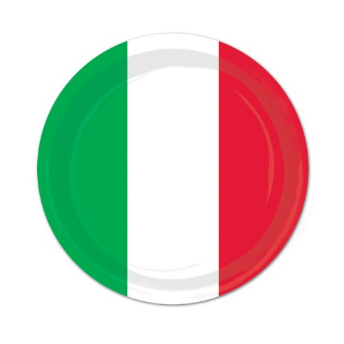 Red, White & Green Plates   -
