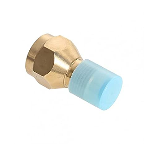 LC004 BBQ Outdoor Propane Tank Refill Adapter Brass Hike Hunting Lp Gas Cylinder