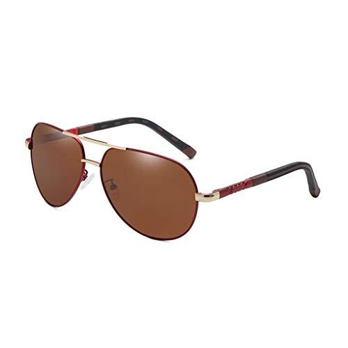 Aviador de de Hombres sol conducción Retro Vogue UV Espejo Nuevas F Running los Gafas de polarizadas Inconformista T1OwxdTq