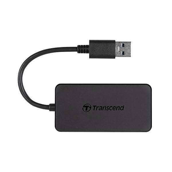 Transcends Information Super Speed USB 3.0 4-Port Hub (TS-HUB2K)