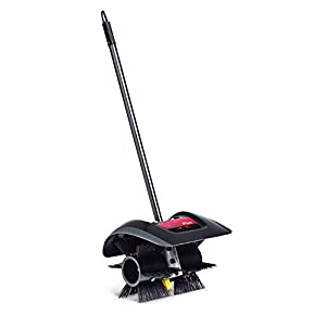 Trimmer Plus BR720 Power Broom Attachment with Nylon Bristles and Poly Skid Plate