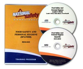Food Safety & Personal Hygiene Video Training Kit (SPANISH DVD VERSION) -