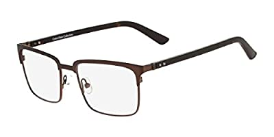 Calvin Klein CK7388 223 5318 Brown Fatigue Eyeglasses