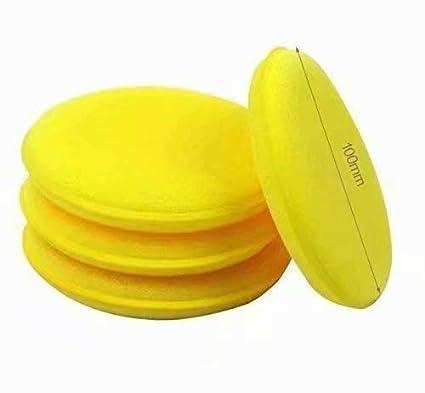 Waymeduo 36pcs Waxing Polish Wax Foam Sponge Applicator Pads for Clean Cars Vehicle Glass