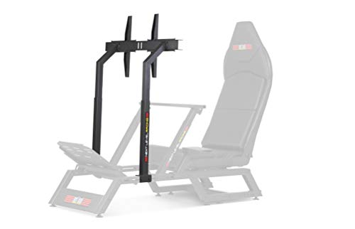Next Level Racing F-GT Matte Black Monitor Stand - Not Machine Specific