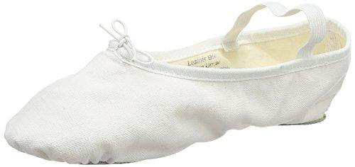 à Blanc White Cheville Danca So Femme Bride Bae23 Ballerines tUW0q1