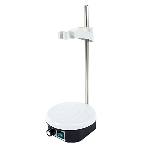 601 Powerful Magnetic Lab Stirrer/Stir Plate with Electrode Holder, Speed Range: 0-2300 RPM, Max Stirring Capacity: ()