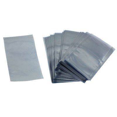 uxcell 100 Pcs 3 inch x 5 inch ESD Anti Static Shielding Bags Open Top