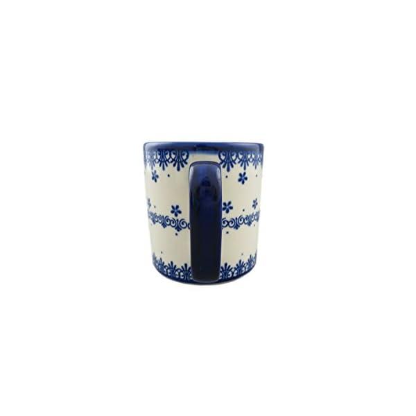 Boleslawiec Style Pottery Hand Painted Polish Ceramic Kubas Mug 055-C-008