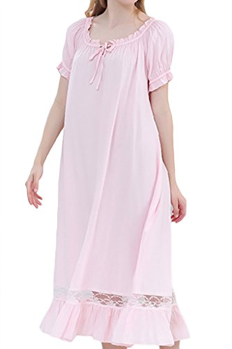 Asherbaby Womens Victorian Vintage Nightgown