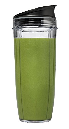 Ninja Nutri Pro Personal Blender with 900 Watt Base and Vitamin and Nutrient Extraction for Shakes and Smoothies (900 Watt Blender with 4 Cups) (Renewed) by Ninja (Image #5)