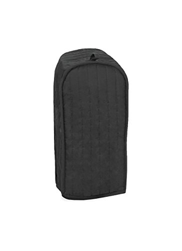 RITZ Polyester / Cotton Quilted Blender Appliance Cover, Dust and Fingerprint Protection, Machine Washable, Black ()