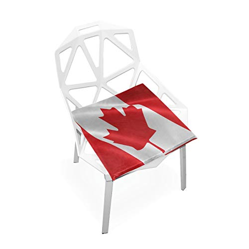Seat Cushion Flag of Canada Chair Cushion Offices Butt Chair Pads Square Wheelchairs Mat for Outdoors (Uwharrie Chair Garden)