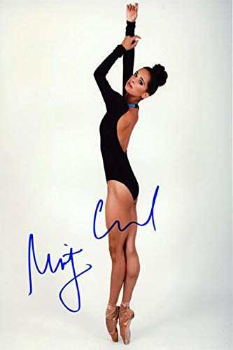 Misty Copeland Autograph Replica Super Print - Color Photo - Portrait - Unframed
