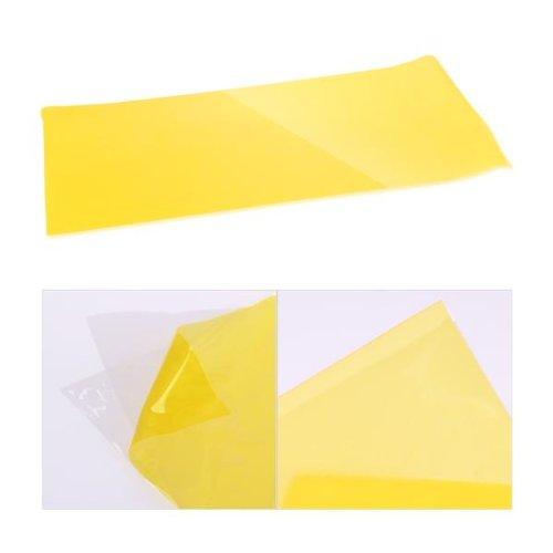 Zimo Yellow Car Taillight Fog Head Light Headlight Tint Film Wrap 12x24