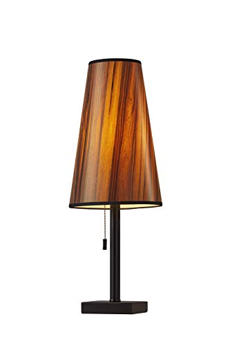 Adesso 1549-01 Ava Table Lamp Matte Black