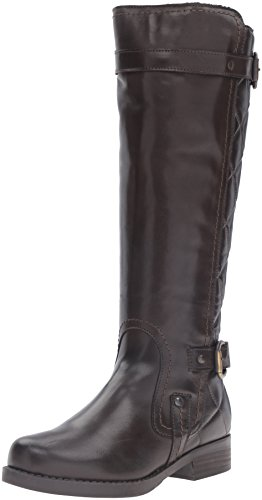 Eric Michael Womens Duluth Riding Boot Brown