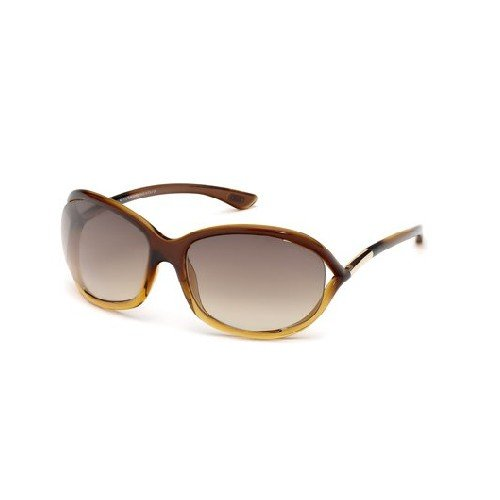 Tom Ford 0008 50f Brown Gradient Jennifer Butterfly Sunglasses Lens Category 3 (Tom Ford Sunglass Lens)