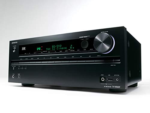 Onkyo TX - NR609 7.2 Channel Network THX Certified A/V Receiver (Discontinued by Manufacturer) (Renewed)