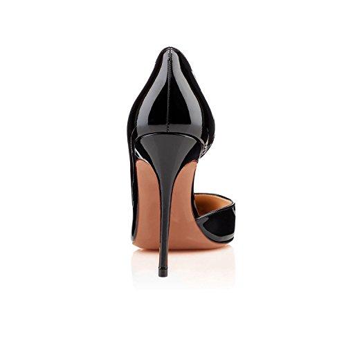 de Arc alto Ciel en zapato tacón las mujeres zapatos Negro charol de de x1Rgwq1