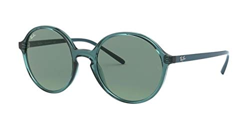 Ray-Ban 0RB4304 Gafas de Sol, Transparente Turquoise, 52 ...