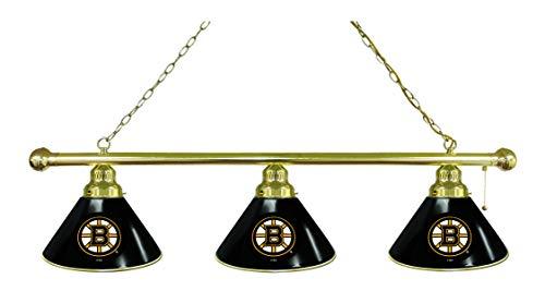 Holland Bar Stool Co. Boston Bruins 3 Shade Billiard Light