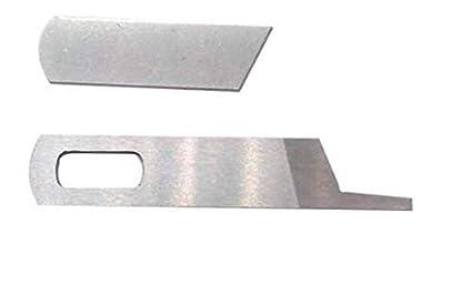 Sew-link Serger Upper + Lower Knives Blades Works with Singer  14u12a,14u13,14u65 14U
