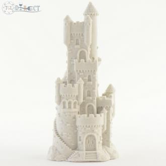 "Sand-Deco Sand Castle Figurine 478-7.5"" Tall (White)"