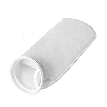DealMux acuario marina del tanque de filtro sumidero del calcetín bolsa de malla blanca: Amazon.es: Productos para mascotas