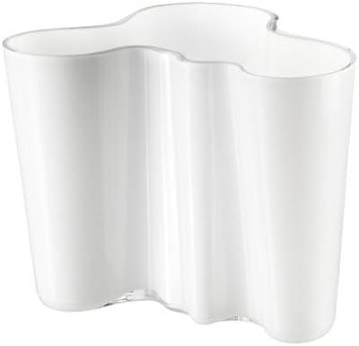 """Iittala Alvar Aalto Collection Vase (6.25""""), White"""