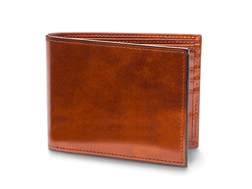Bosca Men's Bifold With Card/I.D. Flap In Amber