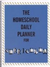 Homeschool Daily Planner Curriculum Preschool 8th