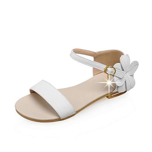 35 EYR00192 Bianco White Aimint Donna Ballerine q8pwg8SXn