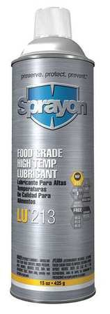 High Temperature Lubricant, Aerosol, 15 oz by Sprayon