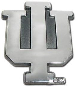 NCAA Indiana Hoosiers Chrome Automobile Emblem