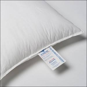 - FOSSFILL FOSSGUARD PILLOW - JS Fiber Fossfill® FossguardTM Hospitality Supreme Pillow Queen 21x31, 31 Oz. Fill (Set of 2) = Usually ships within 1-3 business days unless there is a problem.