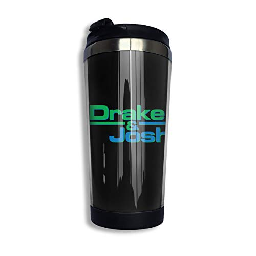 KGOISG Drake Josh Logo Coffee Cups Stainless Steel Water Bottle Cup Travel Mug Coffee Tumbler with Spill Proof - Drake Canister Set