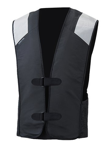 MotoAir Airbag One Motorcycle Airbag Vest Black (Small - Medium)