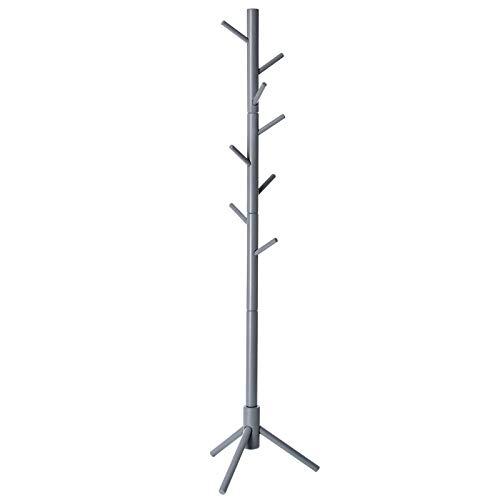 VASAGLE Coat Rack Free Standing with 8 Hooks