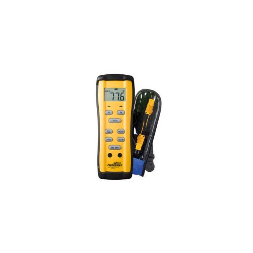 Fieldpiece ST4 Dual Temperature Meter, -58 to 2000F(-50 to 1300C) (Best Type Of Thermometer)