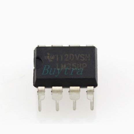 Beito 10Pcs LM358P LM358N LM358 Dip-8 AMPLIFICADORES OPERACIONALES IC WB US05