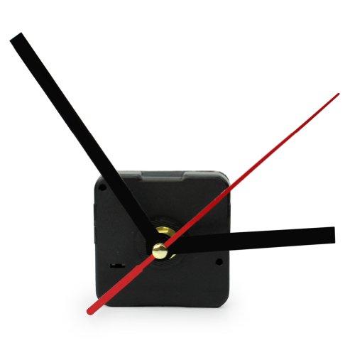 Hot Black Quartz Wall Clock Movement Mechanism Hands DIY Rep