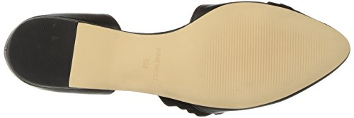 Black Leather West Nine Flat Short Women's Ballet w4wdtYq