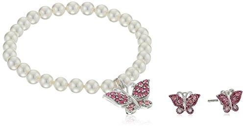 Girls' Petite White Shell Pearl 5.5