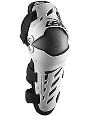 Leatt Dual Axis Knee & Shin Guards - Pair - White/Black 2017 Model