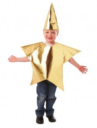 Vestito Da Stella Per Recita Di Natale.Christy S Costume Da Stella Senza Maniche Bambino Taglia Unica