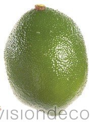 artificial Decorative Faux Fruit for Home Decor - 75mm Lime