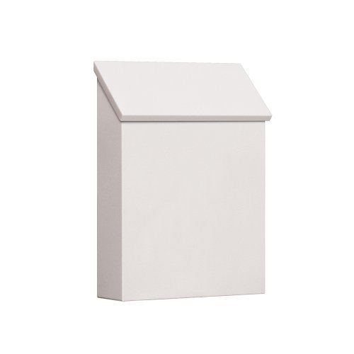 Salsbury Industries 4620WHT Traditional Mailbox, Standard, Vertical Style, White by Salsbury Industries